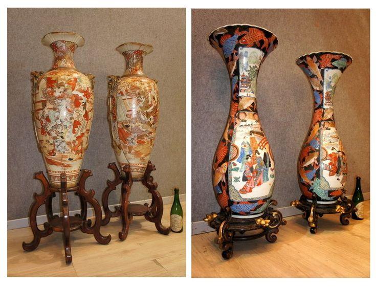 vasi giapponesi epoca ottocento vasi giopponesi – ceramica dal giappone – arte giapponese   Perché vi Sconsigliamo di mettere in asta vasi giapponesi? clicca qui  Le case d'asta del settore specifico fanno mediamente un 30% di venduto. La merce non venduta (70%) rimane...