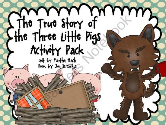 writing activities 3 little pigs