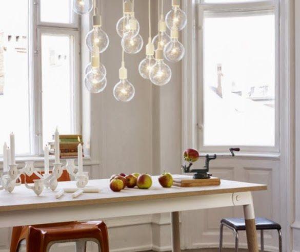 """Luminaires en forme d'ampoule"""" L'ampoule se met à nu"""" decodesign / Décoration"""