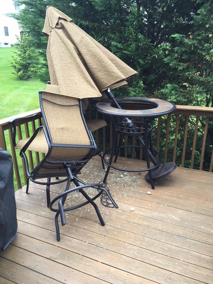 Is Your Patio Table Glass Broken? No Need To Throw Out A Nice Patio Set