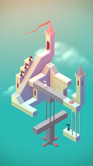 Monument Valley - cool time waster for $3.99 on the Apple Apps store.