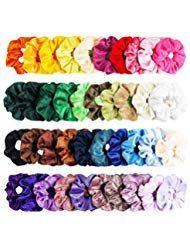 20/40 / 100er Ladies Velvet Hair Ties Thick Girls Elastic Hair Ring Tie Necktie …