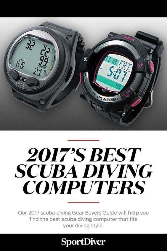 The Best Scuba Diving Computers of 2017 — Today, you have a choice of console, or wrist-mount or wristwatch-style computers. Our 2017 scuba diving Gear Buyers Guide will help you find the best scuba diving computer that fits your diving style. #scubadivingequipmentwatches