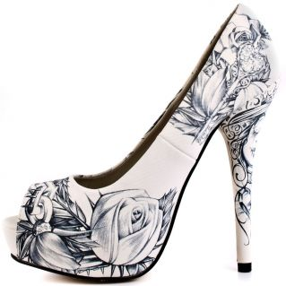 These are my most favorite shoes right now.... They dont like the winter weather we are having ..... lBlack and White Sketched Iron Fist Shoeshttp://www.yandy.com/Curvaceous-Captain-Costume.php (a favourite gothic punk shoes repin of VIP Fashion Australia )