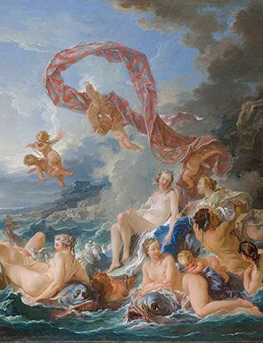 François Boucher (1703-1770), The Triumph of Venus, 1740.