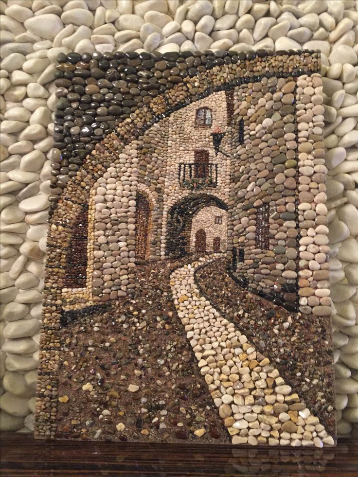 Pebble mosaic a beautiful piece of