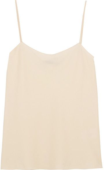 The Row - Biggins Matte-satin Camisole - Cream