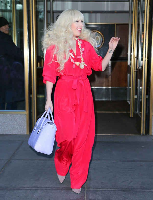 This, | What Did Lady Gaga Wear This Week?