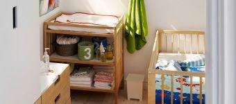 Уголок для малыша с кроваткой и мебелью для хранения  http://ikeashop.by/viewpage/?url=http://www.ikea.com/ru/ru/catalog/categories/departments/living_room/