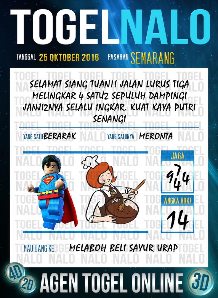 Tafsir Syair Togel Wap Online Live Draw 4D TogelNalo Semarang 25 Oktober 2016