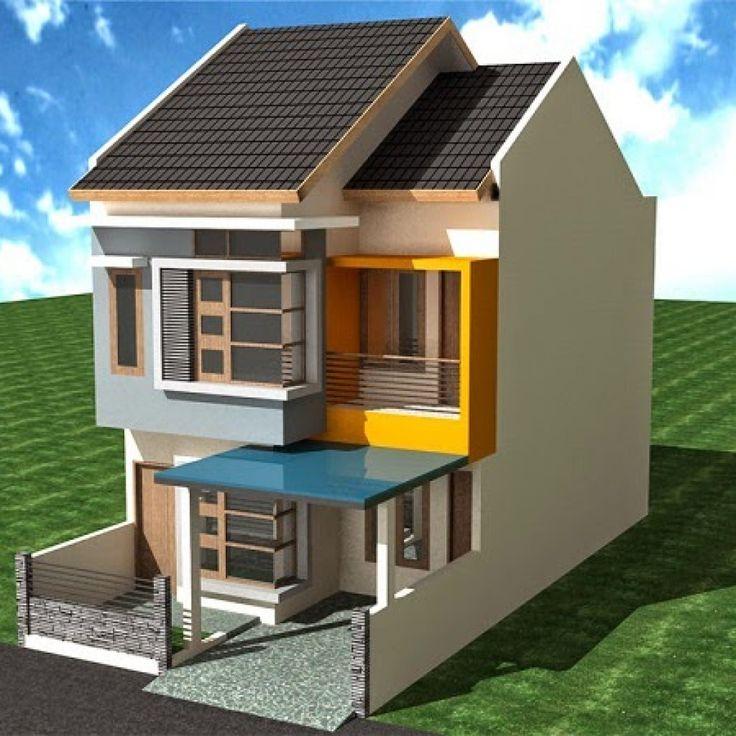 Desain Cat Rumah 2 Lantai