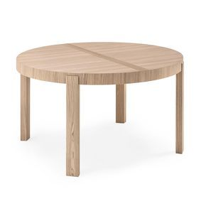 Table de repas ronde extensible Atelier                                                                                                                                                                                 Plus