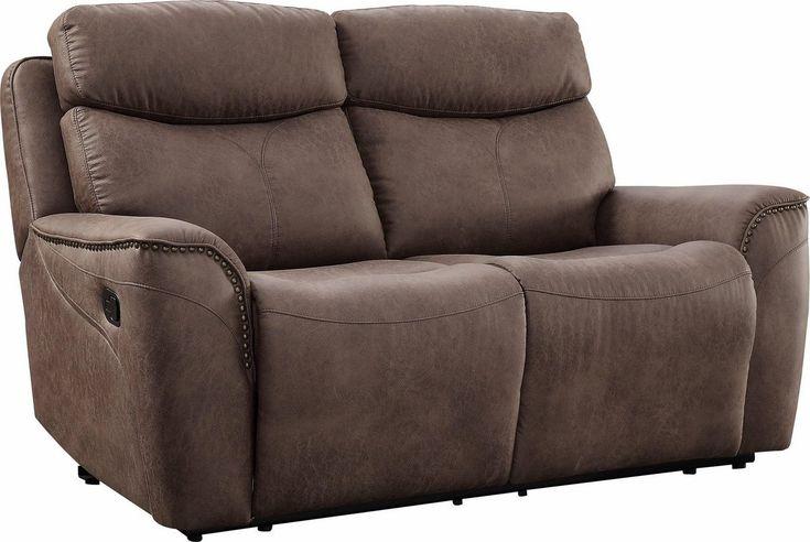 2 Sitzer Pius Mit Relaxfunktion Und Nieten An Den Armlehnen Federkern Sofa Design Armlehnen Und Relaxen
