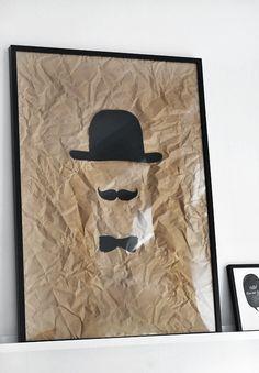 tableau moustache