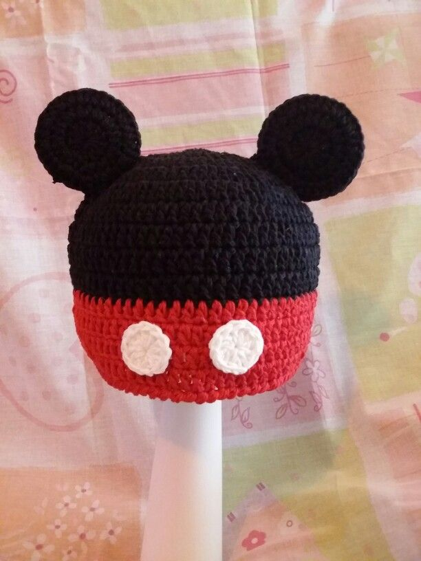 Touca Mickey 45,00 https://m.facebook.com/profile.php?id=889689011075197