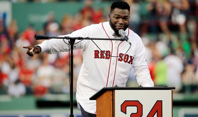 Medias Rojas de Boston retiró el número 34 de David Ortiz #Beisbol #Deportes