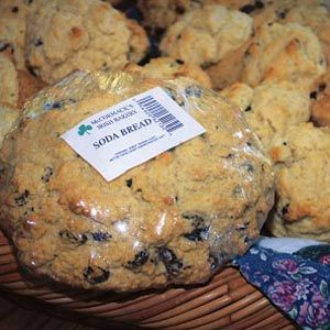 Best Irish Soda Bread Recipe -This recipe is similar to the one passed down through generations of my Irish family. I rarely touch a mixer because kneading by hand makes the bread taste so good.—Kerry McCormack, Marietta, GA