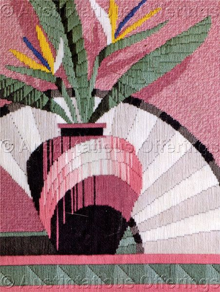 Reinardy Tropical Longstitch Needlepoint Kit Bird Paradise