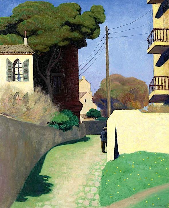 Felix Vallotton - Chemin au Mourillon. 1925
