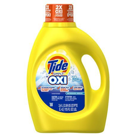 Tide Simply Plus Oxi Liquid Laundry Detergent Refreshing Breeze