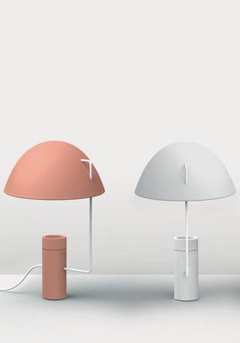 """""""Mia"""" lamp designed by Paola Monaco di Arianello for Danese Milano"""