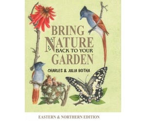 I just attended a talk by this author on how to bring wildlife, birds, and helpful insects to your South African garden.