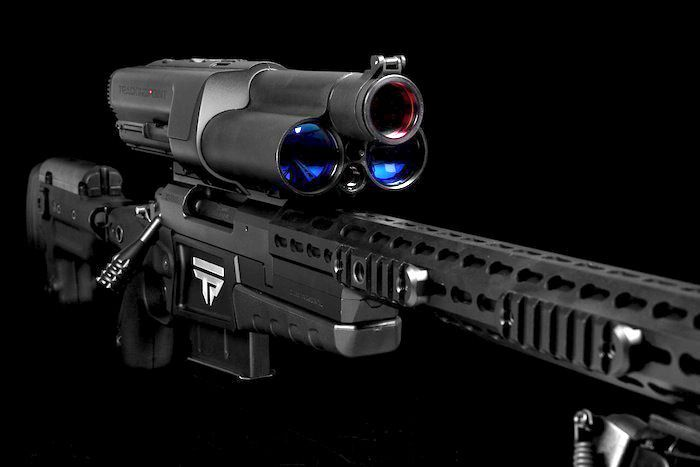 This $22000.00 sniper rifle comes with a WiFi server, USB ports, an iPad mini ... and aims itself