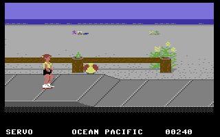 California Games Commodore 64 Roller skating @Mandi Smith T Interiors Cromer