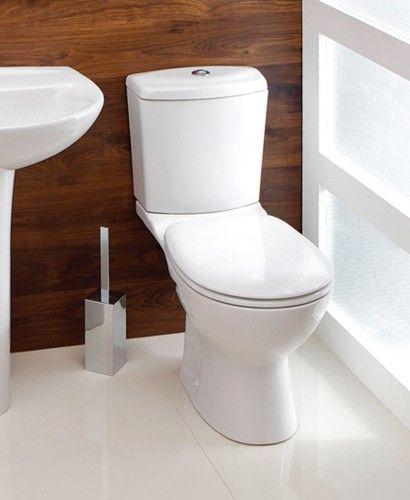 Siena Close Coupled Toilet & Seat - Close Coupled Toilets - Toilets - Toilets & Basins