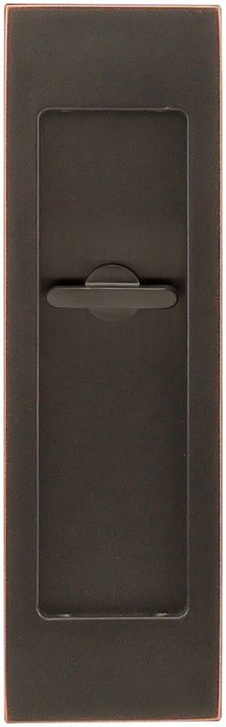 INOX FH2782 FH27 Series Privacy Pocket Door Lock with TT08 Thumb-Turn Release- T Oil Rubbed Bronze Pocket Door Lock Privacy