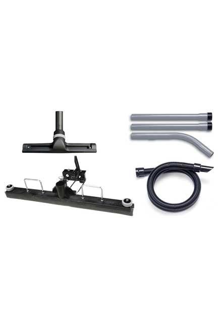 Ensemble d'outils de sol avec racloir pour aspirateur humide 900