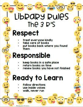 Emoji Library Poster Set (White Background) Decorate your school library with these fun posters. This is a set of 80 posters with emojis and a simple white background. There are posters in both portrait and landscape orientation. Set of editable posters included.