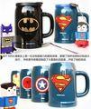 PREÇOS por atacado # COOL-Única # Superman Homem-Aranha Homem de Ferro THOR Batman de cerâmica xícara de café xícara de LEITE caneca copo de ÁGUA copo de cerveja em casa bar