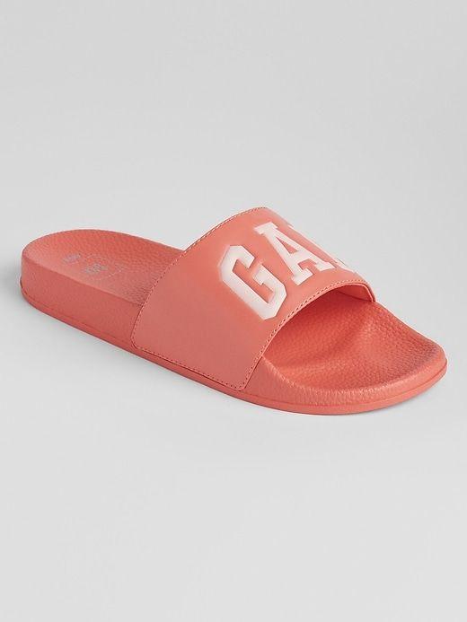 02647b291 Logo Pool Slide Sandals | Gap Factory | Wish list in 2019 | Slide ...