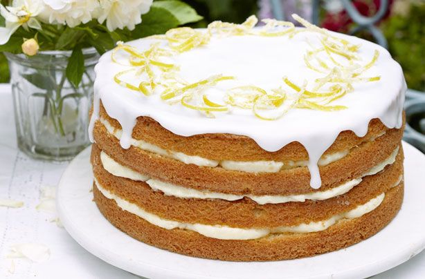Recipe Lemon Drizzle Cake Delia Smith: Mary Berry's Whole Lemon Cake With Lemon Cheesecake Icing