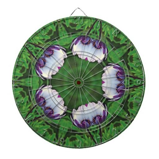 daisies-in-the-morning dartboard