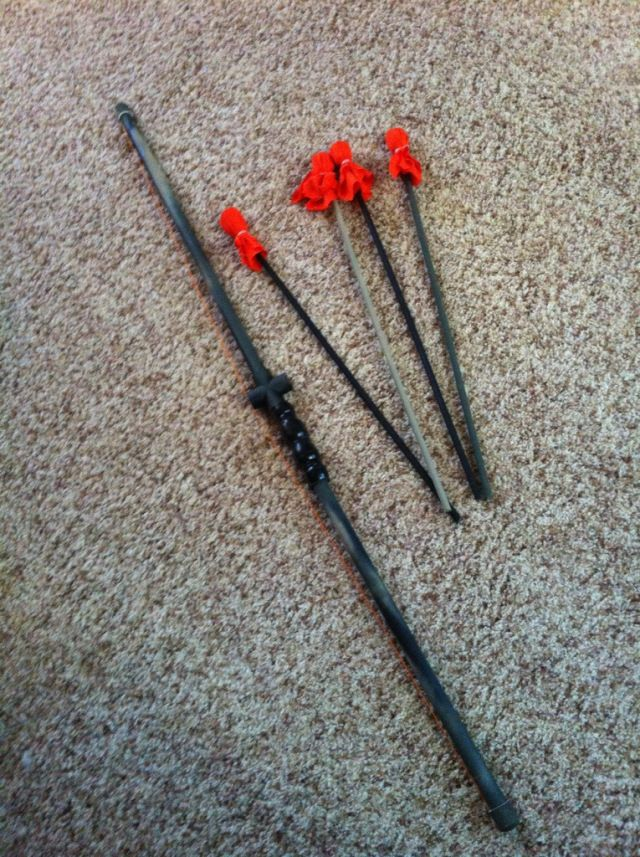 17 best images about bow and arrow on pinterest bow for Kids pvc bow