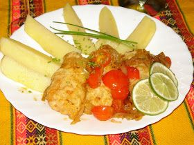 Cucina peruviana in Italia: Pescado a la Chorillana -