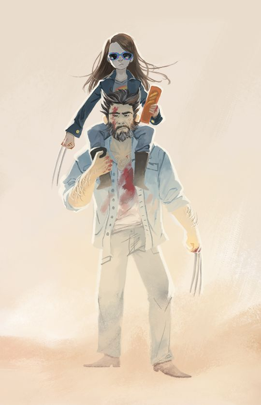 the trailers for logan are still killing me, I can't wait to watch this!