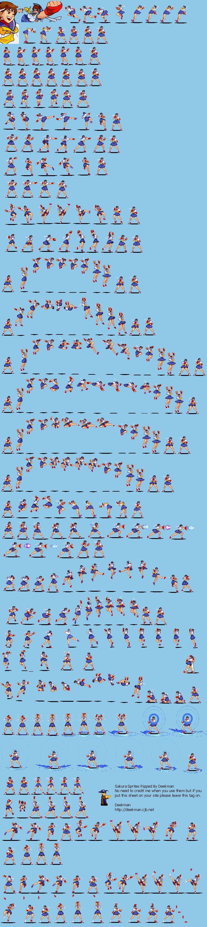Sakura Sprite sheets Pinterest Animation and Sprites