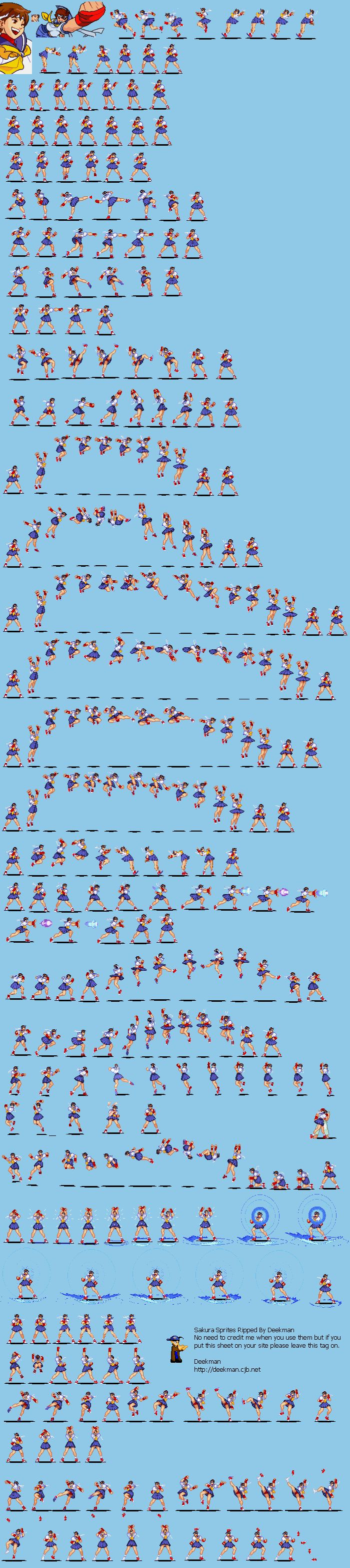 Kens Street Fighter II with animated sprites  CodePen