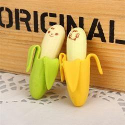 Gumka do mazania Banany 2 sztuki biuro