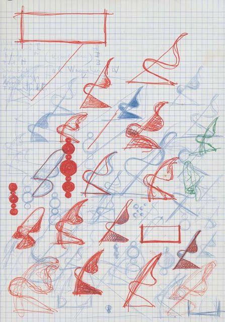 Panton 1958/1959 sketches smystyle