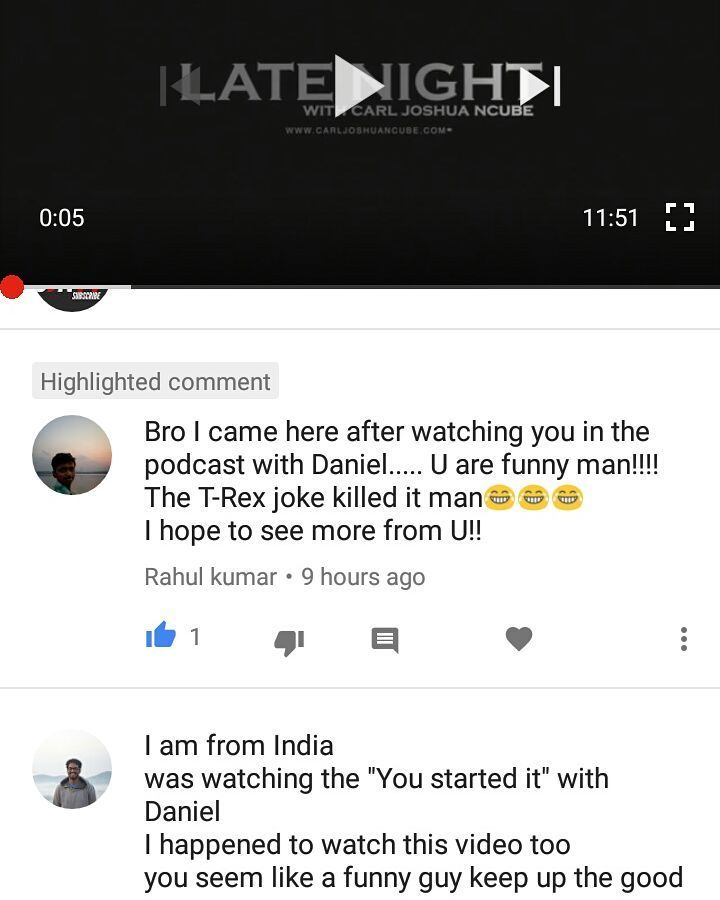 Hey Daniel Fernandes thank you for having me on your podcast when I was in Mumbai...now I have people watching my YouTube channel from INDIA...too awesome