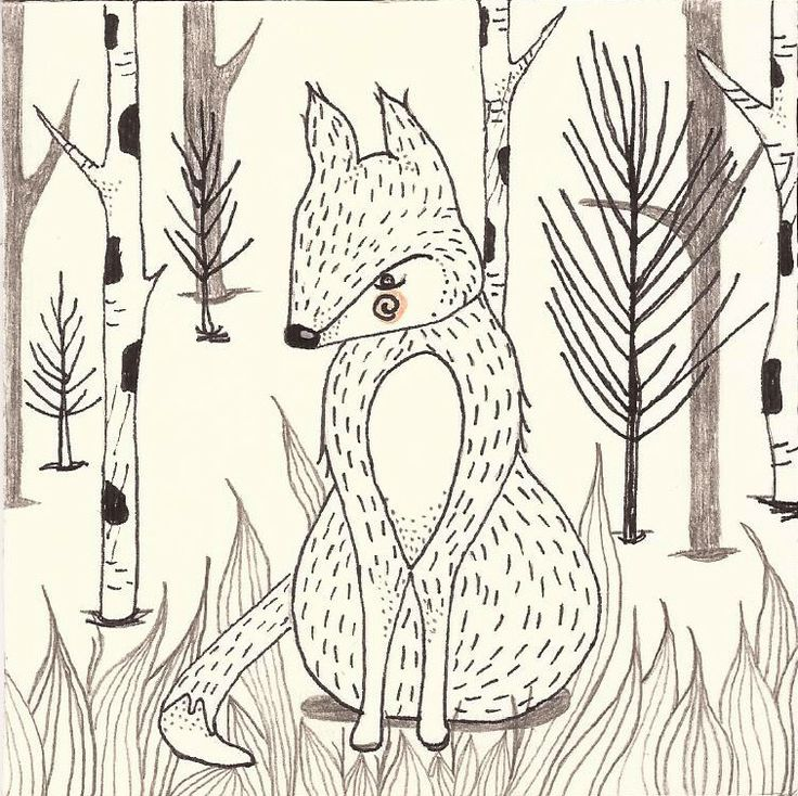 Copyright 2014 © Turquoise Janina, fox, plant