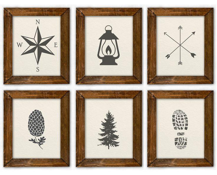 Boy Room Decor, Baby Boy Nursery Prints, Wanderlust Nursery, Camping Nursery, Adventure Nursery, Rustic Nursery, Woodland Nursery Travel Art  – boy nursery