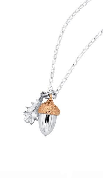 Karen Walkers Acorn & Leaf pendant. Love.