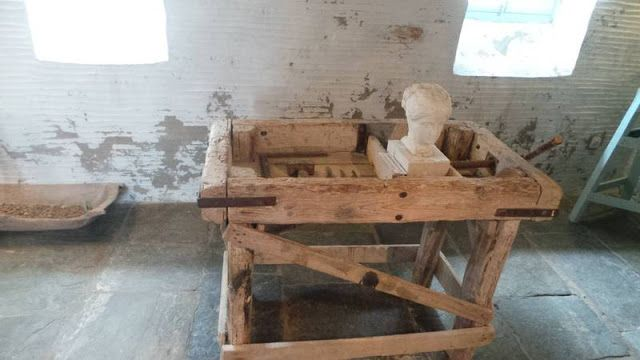 Το εργαστήριο στο χωριό  Μουσείο Γιαννούλη Χαλεπά στο χωριό Πύργος στην Τήνο