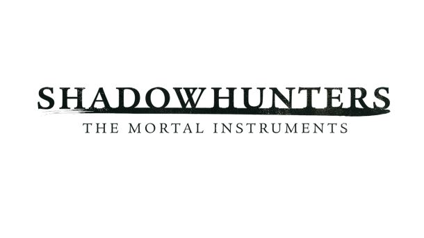 Official title logo for ABC Family's Shadowhunters, based on Cassandra Clare's The Mortal Instruments.