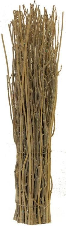 """20"""""""" Rustic Natural Twig Frosted and Glittered Standing Christmas Tabletop Decoration"""